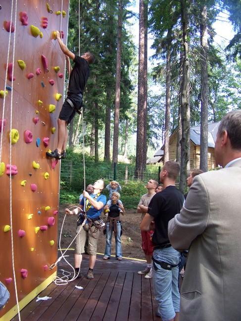 krakowski rope park wyspa przygody opatowicka